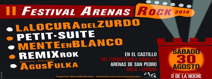 II Festival Arenas Rock - Arenas de San Pedro - TiétarTeVe