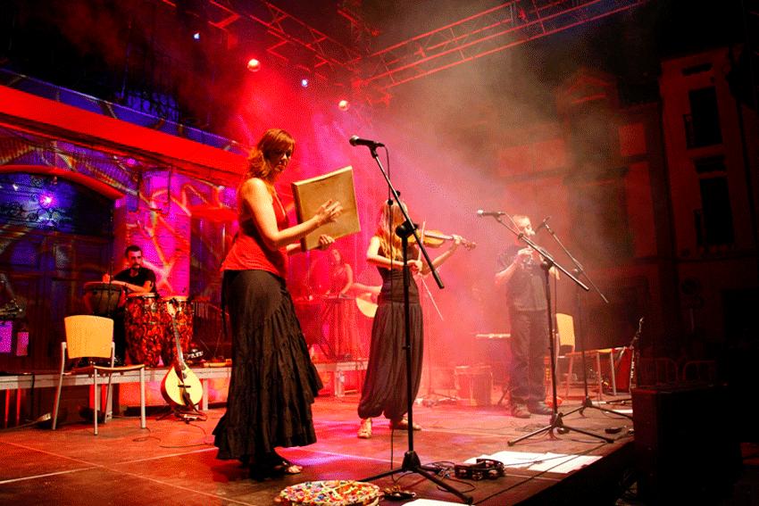 Acetre en el Festival Internacional Pedro Vaquero de Candeleda - TiétarTeVe