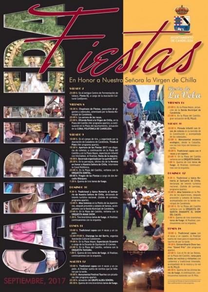 Fiestas en honor a la Virgen de Chilla - Candeleda - TiétarTeVe