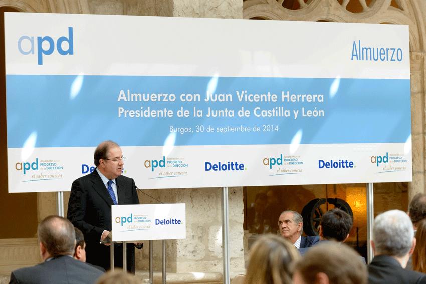 Juan Vicente Herrera (Presidente de la JCyL) en la APD - TiétarTeVe