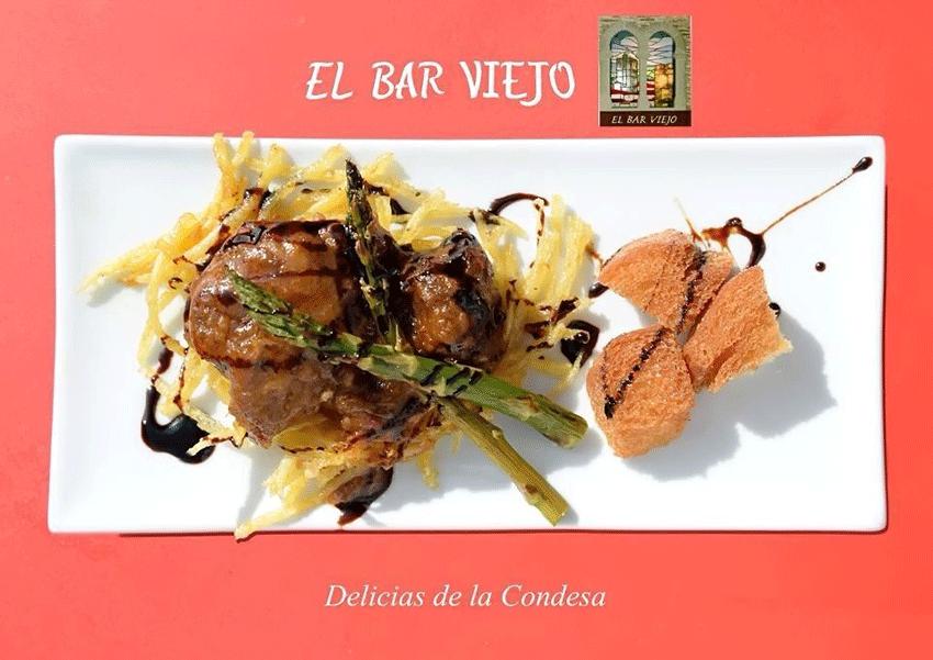 Delicias de la Condesa de El Bar Viejo de Arenas de San Pedro - TiétarTeVe