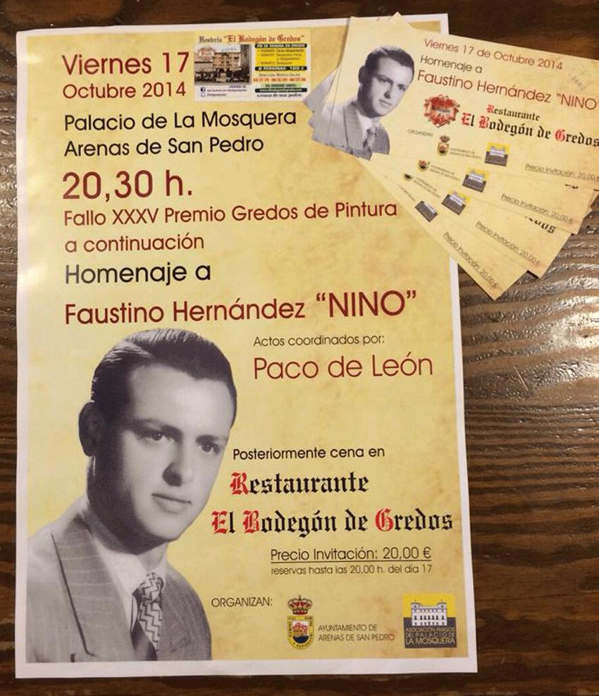 Cena Homenaje a Nino en la Hostería El Bodegón de Gredos - TiétarTeVe