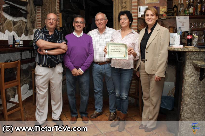 Premio Mejor Camarero Ruta Avileña de Arenas de San Pedro - Taberna Museo de Arenas - TiétarTeVe