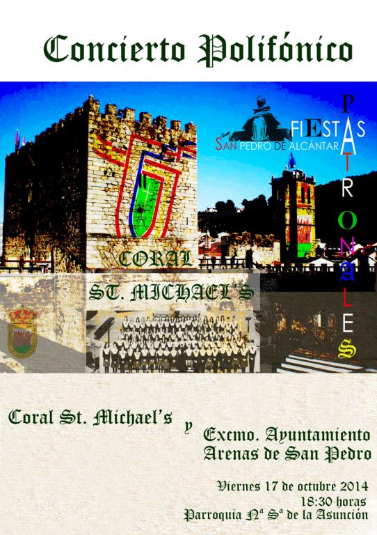 Concierto-Coral-st-michael-school-en-Arenas-de-San-Pedro - TiétarTeVe