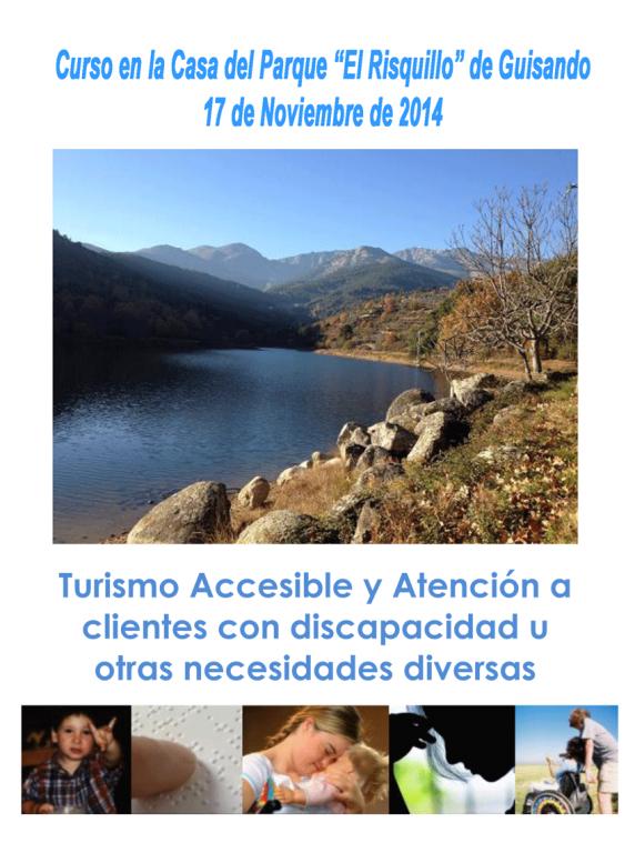 Curso de Turismo Accesible en Guisando - TiétarTeVe