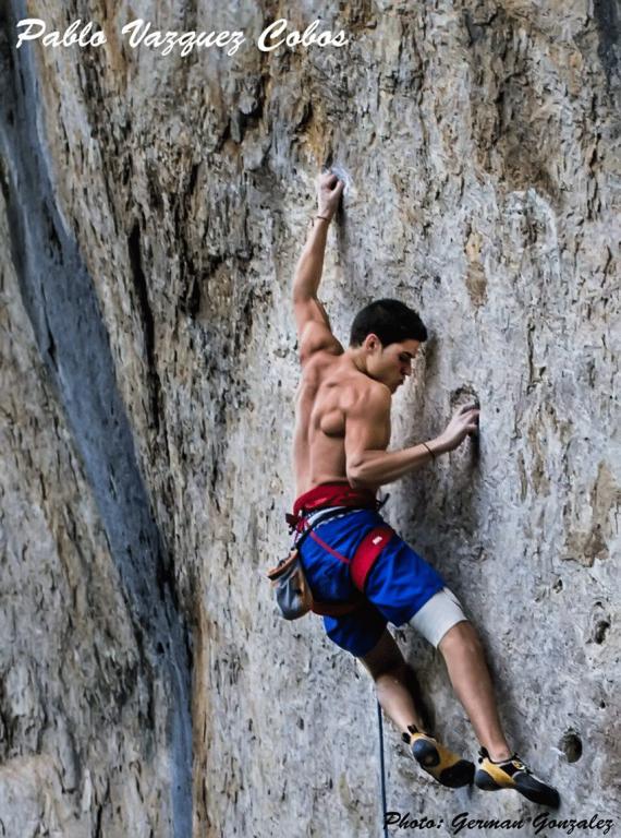 Pablo Vazquez Cobos - Escalada en Roca - Arenas de San Pedro - TiétarTeVe