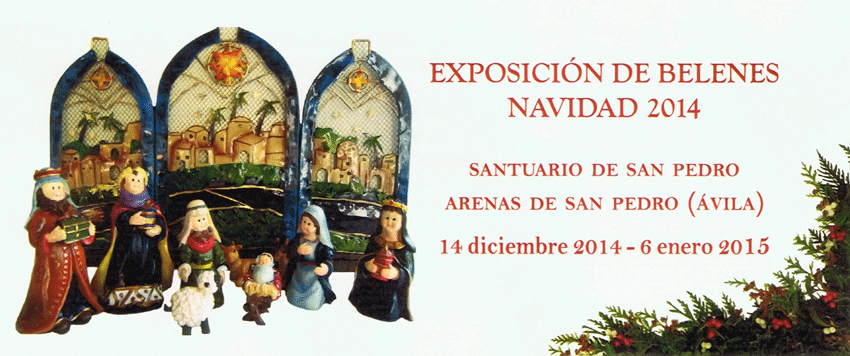 Exposición de Belenes en el Santuario de San Pedro de Alcántara de Arenas de San Pedro - TiétarTeVe