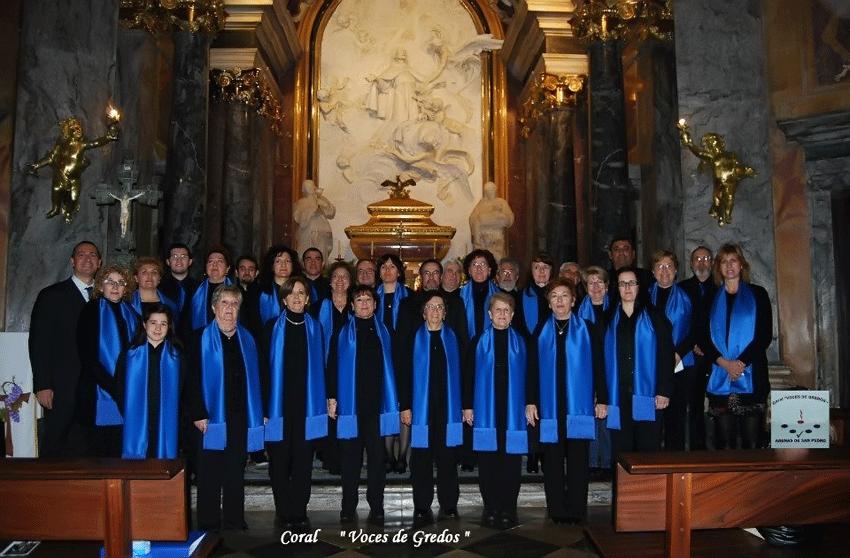 Coral Voces de Gredos en el Santuario de San Pedro de Alcántara
