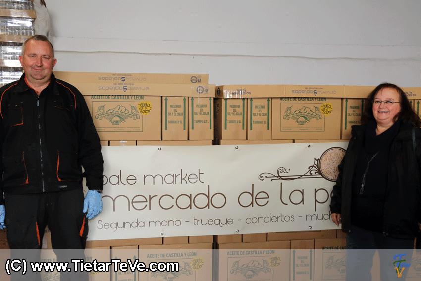 Entrega Aceite Mercado de la Paja - TiétarTeVe