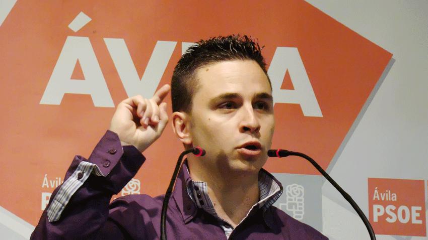 Roberto Aparicio, candidato del PSOE de La Adrada - TiétarTeVe