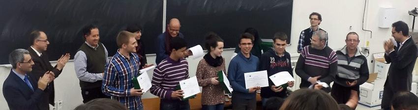 Entrega de Premios de la Fase Local de la Olimpiada de Física