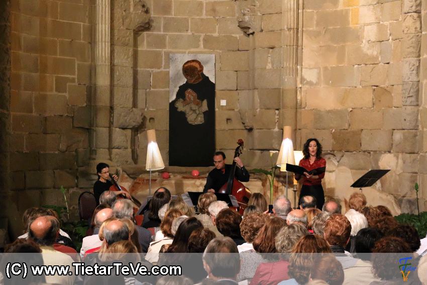 Concierto de Chelo, Contrabajo y Soprano en Alcántara - TiétarTeVe
