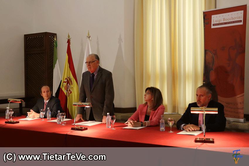Presentación en Alcántara - TiétarTeVe
