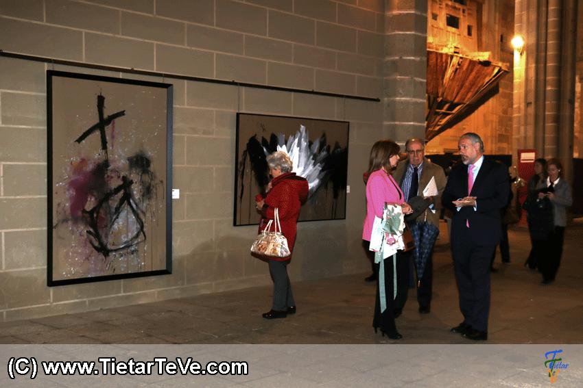Exposición Ramón De Vargas en Alcántara - TiétarTeVe