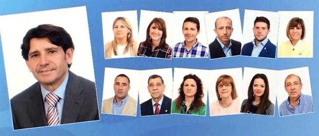 Candidatura del PP a las municipales 2015 al Ayuntamiento de Arenas de San Pedro - TiétarTeVe