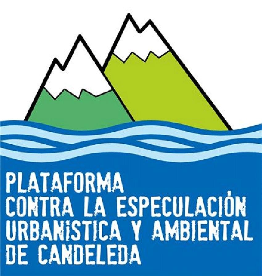 Logotipo de la Plataforma contra la Especulación Urbanística y Ambiental de Candeleda