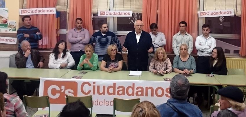 Candidatos por Ciudadanos a las Municipales 2015 para el Ayuntamiento de Candeleda y El Raso