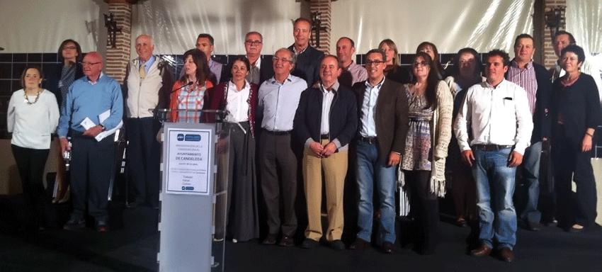 Candidatos del Partido Popular de Candeleda al Ayuntamiento de Candeleda y El Raso - TiétarTeVe