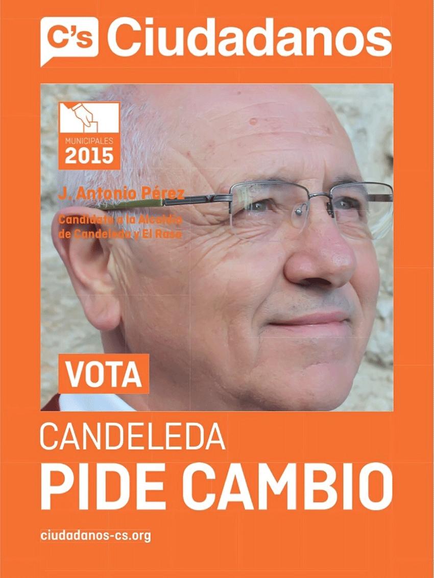 Candidato a la alcaldía para Candeleda por Ciudadanos - Municipales 2015 - TiétarTeVe
