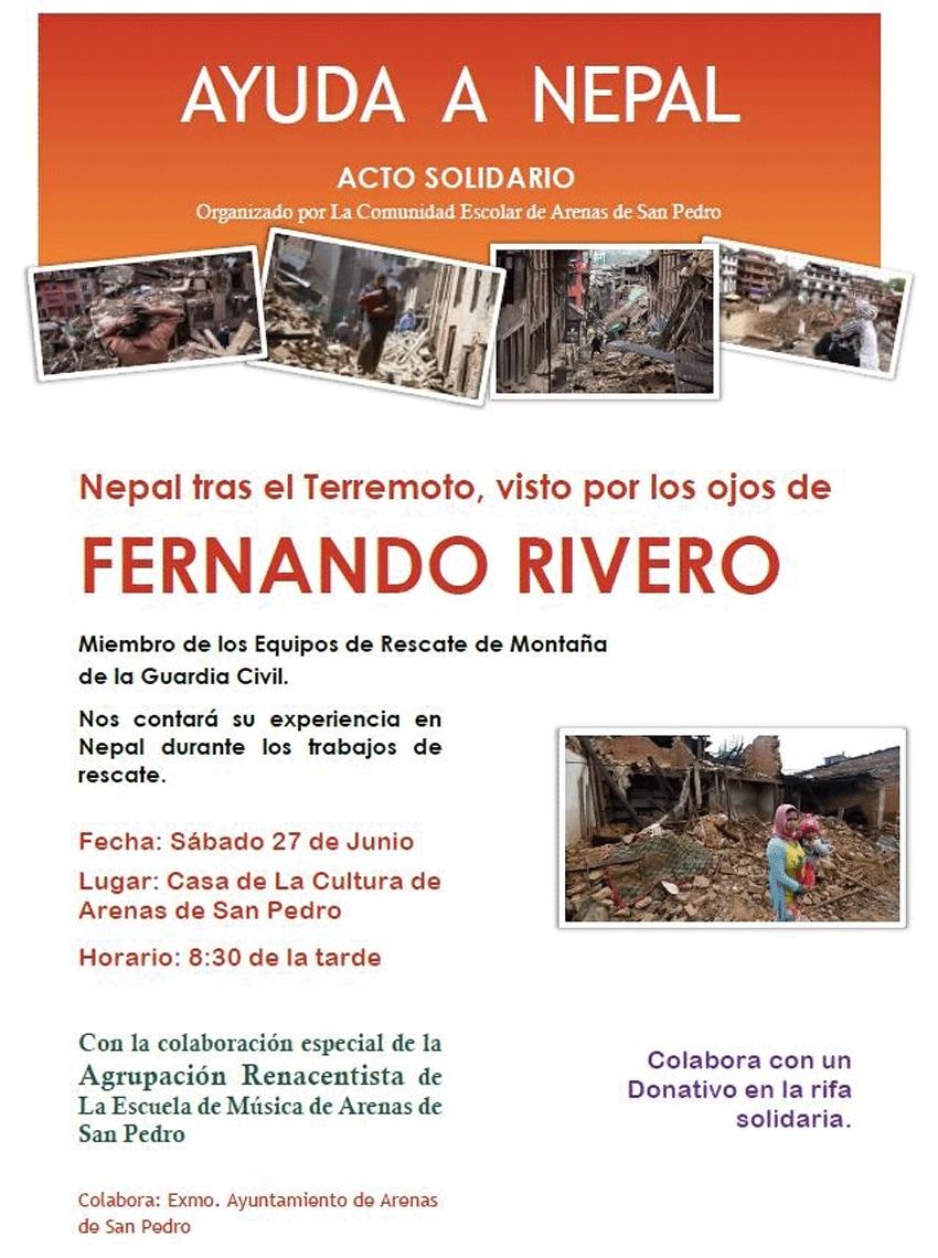 Ayudando a Nepal desde Arenas de San Pedro - TiétarTeVe