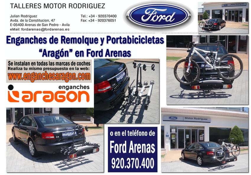 Oferta Enganches de Remolque y Portabicicletas en Ford Arenas - TiétarTeVe