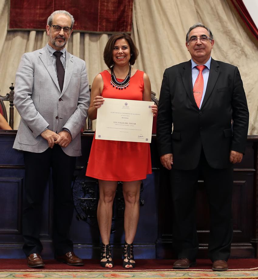Yolanda Miranda, directora del IES Valle del Tiétar - TiétarTeVe