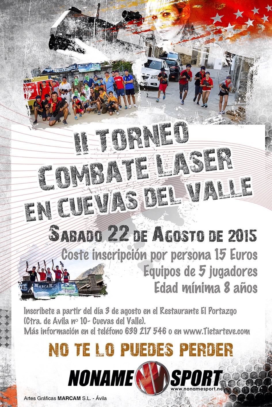 II Torneo Combate Láser en Cuevas del Valle - TiétarTeVe
