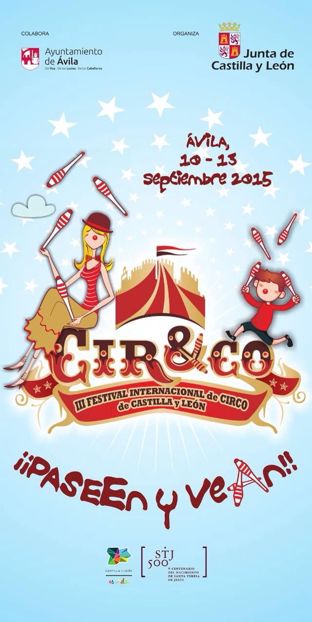 Cir&Co en Ávila del 10 al 13 de Septiembre de 2015 - TiétarTeVe