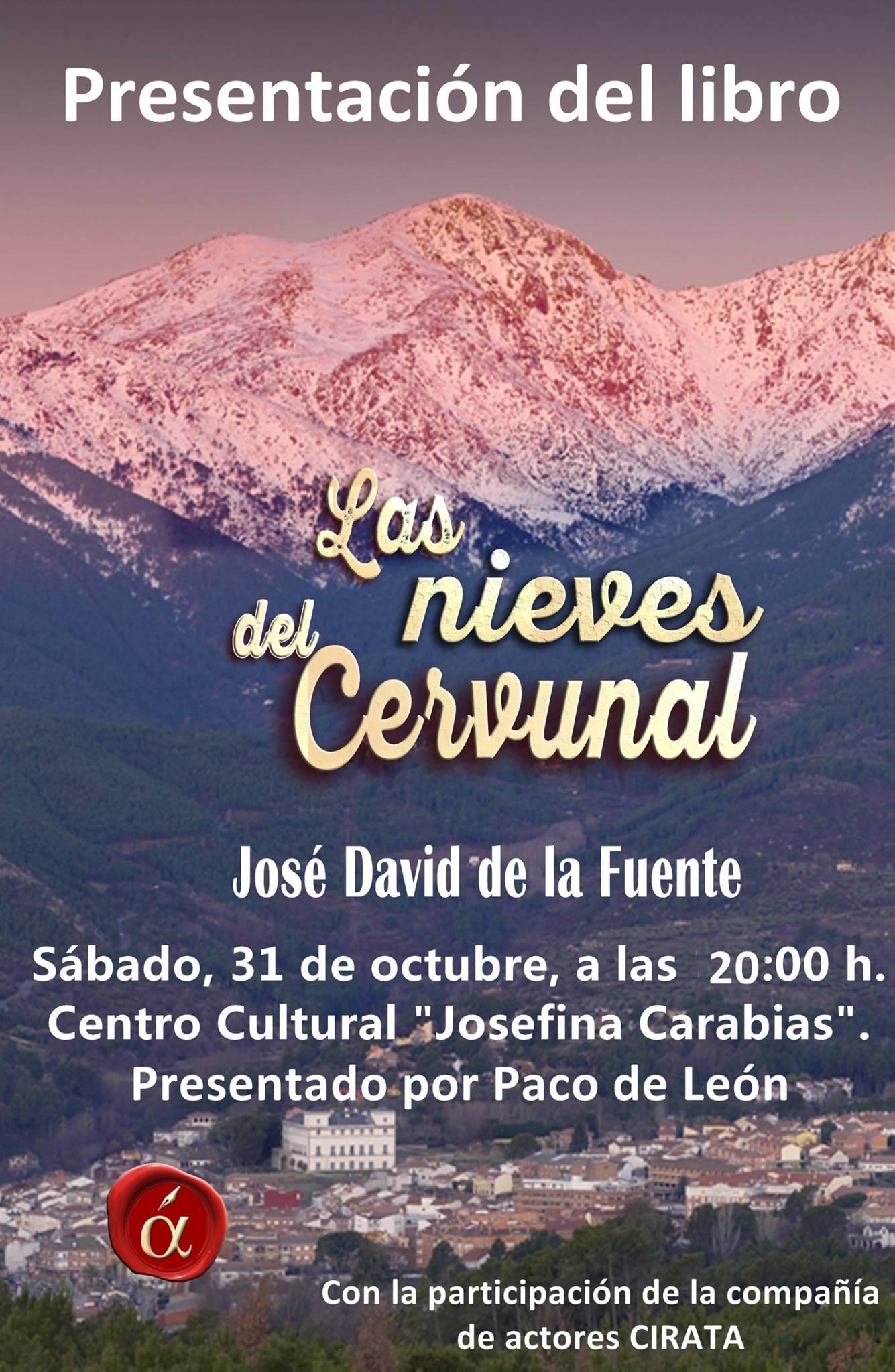 """Presentación del Libro """"Las Nieves del Cervunal"""" de José David de la Fuente - TiétarTeVe"""