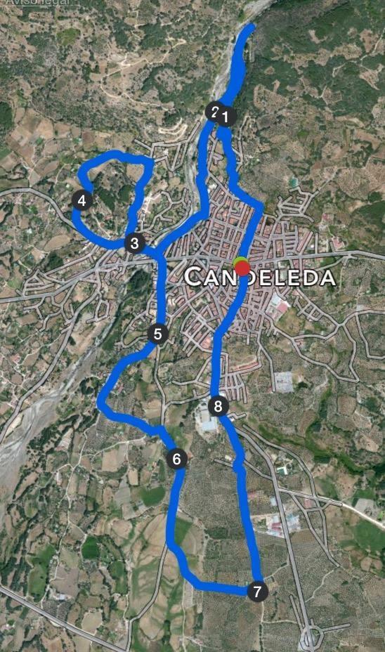 Recorrido II Carrera Popular Los Calderos en Candeleda - TiétarTeVe