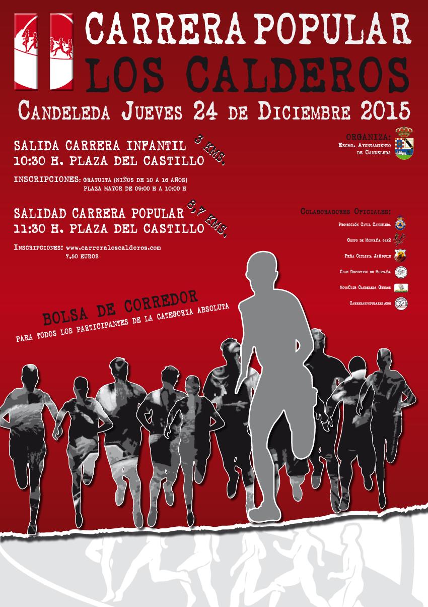II Carrera Popular Los Calderos en Candeleda - TiétarTeVe