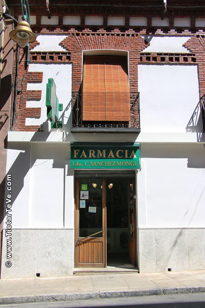 Farmacia Sanchez-Monge - Arenas de San Pedro - TiétarTeVe