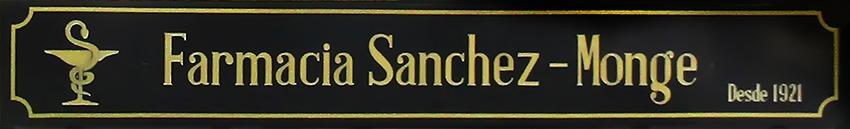Cartel Farmacia Sánchez-Monge - Arenas de San Pedro - TiétarTeVe