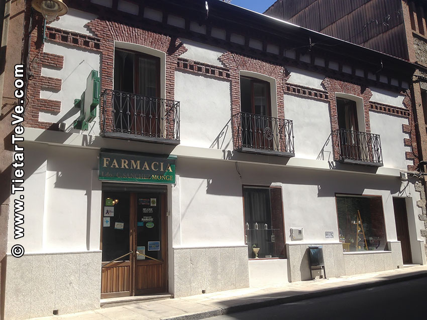 Farmacia Sánchez Monge - Arenas de San Pedro - TiétarTeVe