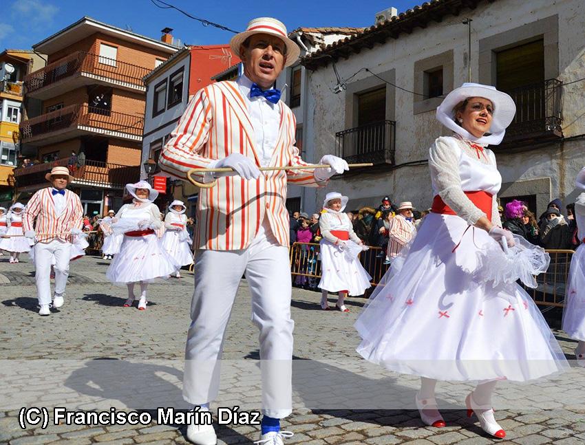 Carnaval de Cebreros - Mary Poppins de Las Navas del Marqués - TiétarTeVe