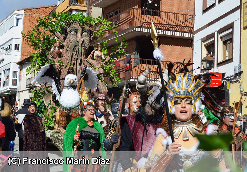 Carnaval de Cebreros - Fantasía Mitológica de Cebreros - TiétarTeVe