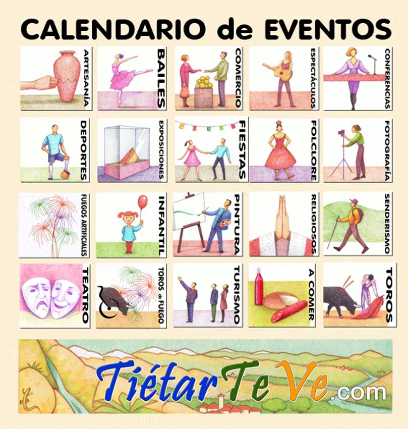 Calendario de Eventos de TiétarTeVe