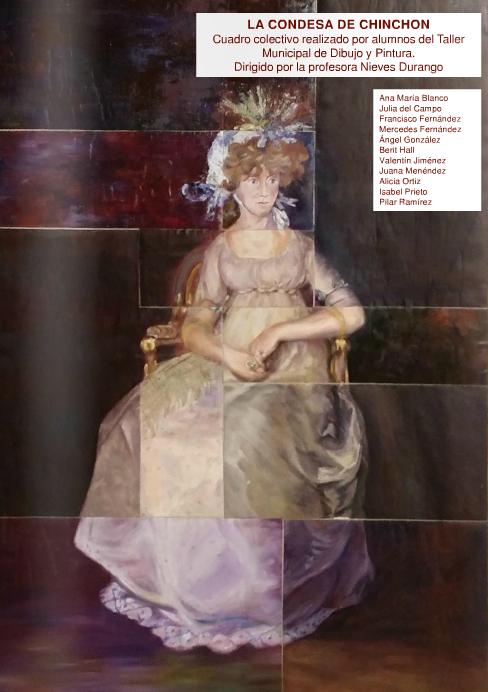 Obra colectiva sobre la Condesa de Chinchón - TiétarTeVe