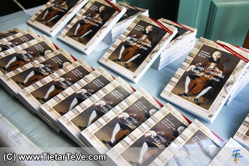 """Presentación del libro """"Luigi Boccherini, vida de un genio"""" de Antonio Cavanillas de Blas - TiétarTeVe"""