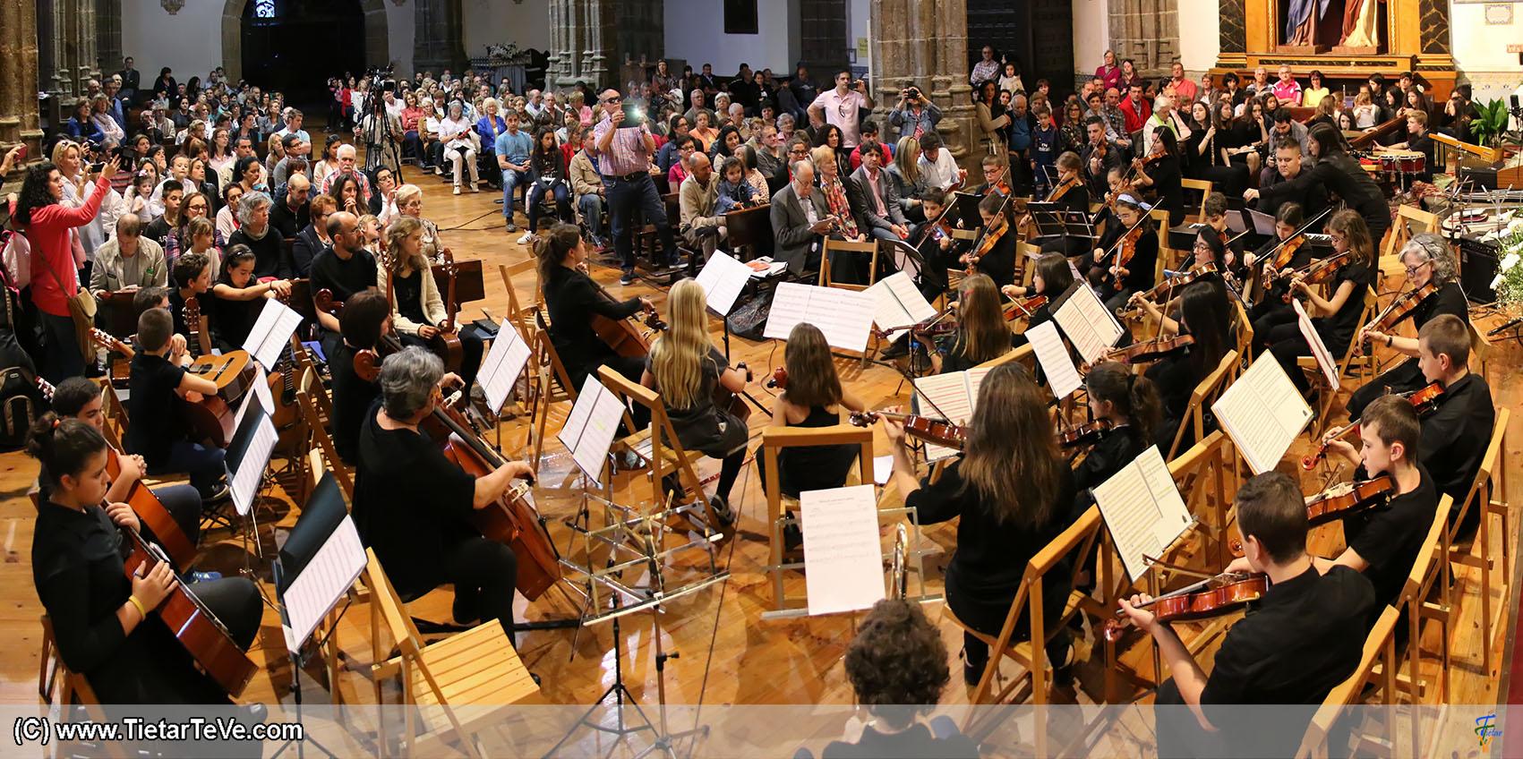 Concierto de la Escuela de Música de Arenas de San Pedro en el X Festival Luigi Boccherini - TiétarTeVe