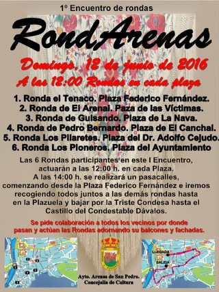 I RondArenas en Arenas de San Pedro - TiétarTeVe