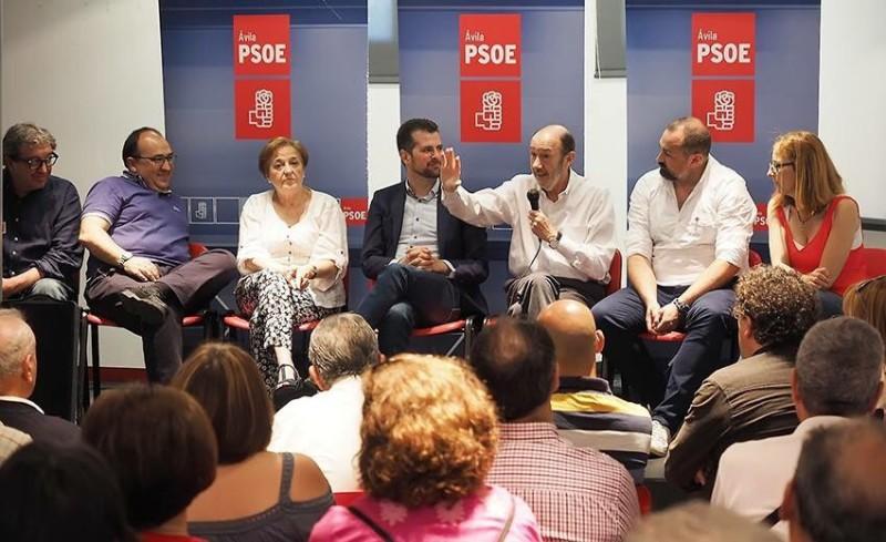 Alfredo Pérez Rubalcaba en Candeleda - TiétarTeVe