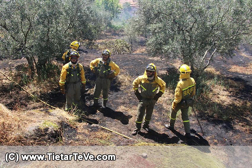 Incendio en Arenas de San Pedro el 13 de julio de 2016 - TiétarTeVe
