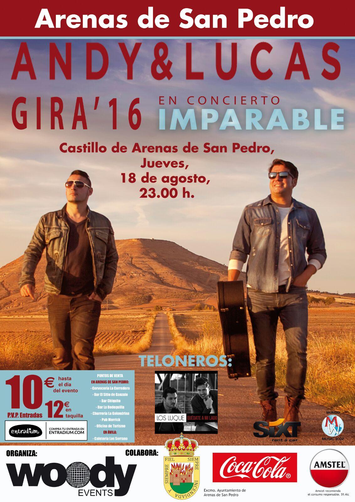 Andy & Lucas en Arenas de San Pedro - TiétarTeVe