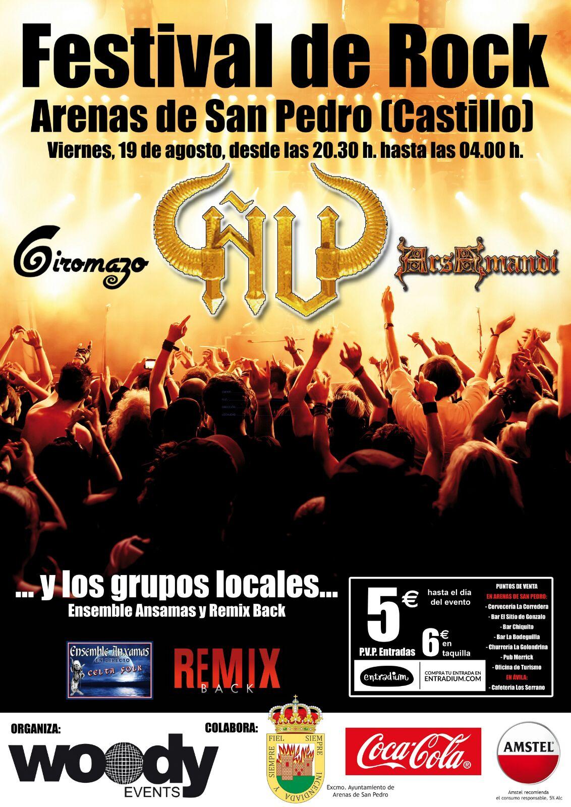 Festival del Rock en Arenas de San Pedro - TiétarTeVe