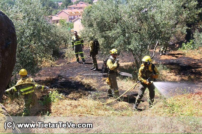 Incendio en Gredos - TiétarTeVe