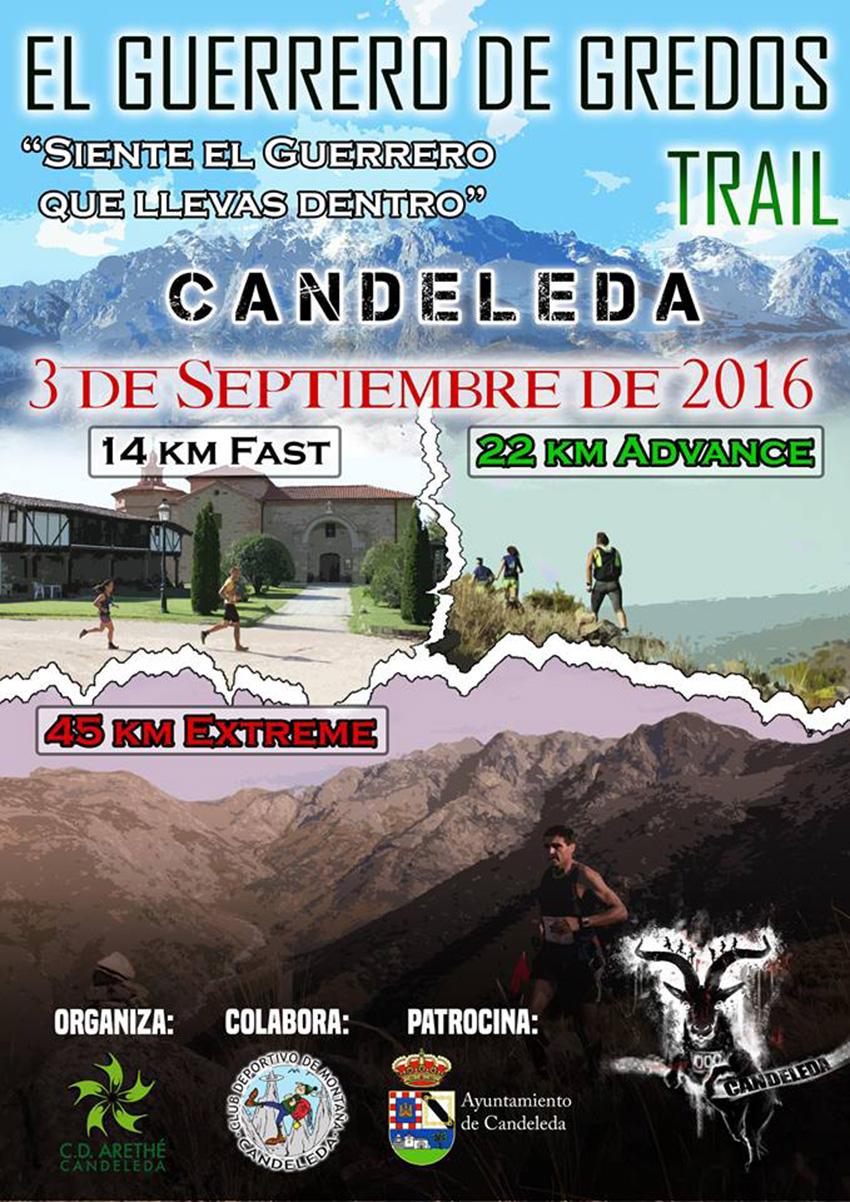 """18bf9b73 El 3 de septiembre se celebrará en Candeleda la II edición del Trail """"El  Guerrero de Gredos"""", con tres recorridos posibles: 14 km, 22 km y una nueva  ..."""