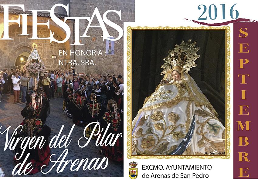 Fiestas del Pilar de Arenas de San Pedro 2016 - TiétarTeVe