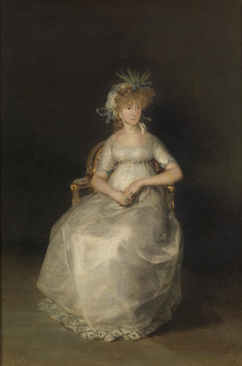 La Condesa de Chinchón - Mª Teresa de Borbón y Vallabriga - Francisco de Goya