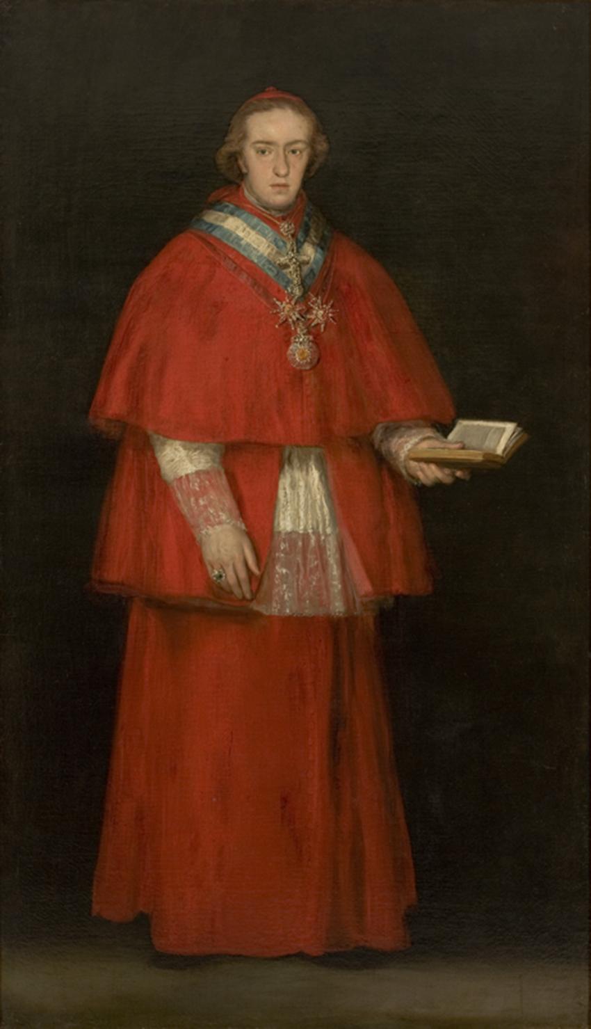 Luis María de Borbón y Vallabriga - Goya